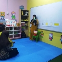 ECE students doing teaching practice in teaching skill lab