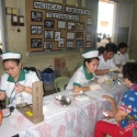 Student Nurses conducting Health Screening